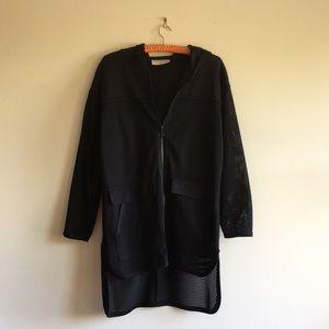 Zara Long Mesh Jacket